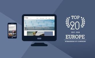 Webranking Europa: Prysmian Group ist unter den Top 20