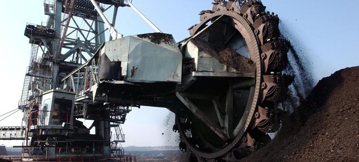 Kabel für den Tagebau