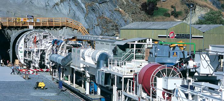 Kabel für den Tunnelbau