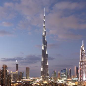Burj Khalifa: Sicherheit bis in die Wolken
