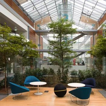 """In der neuen """"Smart-Working""""-Zentrale von Prysmian"""