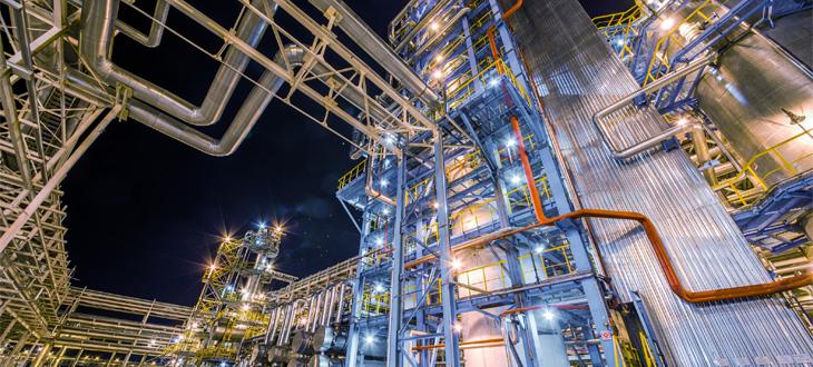 Raffinerien und petrochemische Anlagen