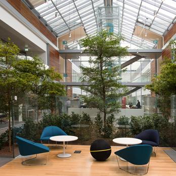Einblick in den neuen 'smart-working' Hauptsitz von Prysmian